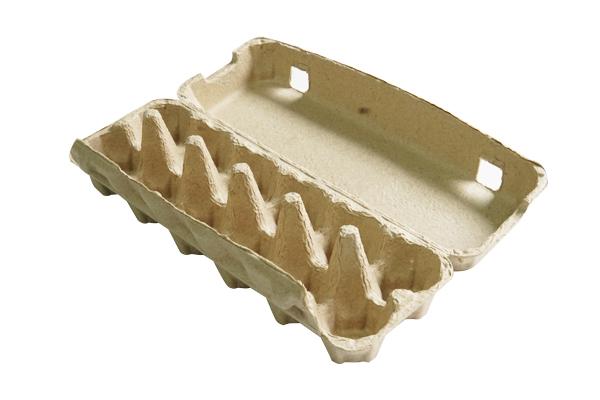Egg carton paper tray